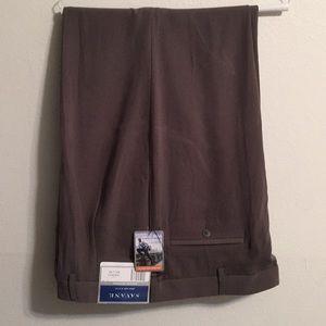 Savane Dress pants with cuffs NWT size 42-30
